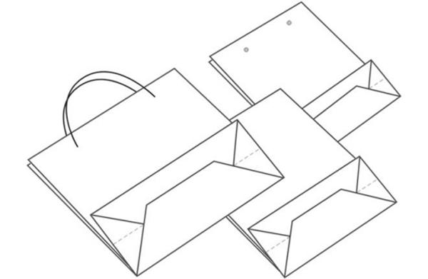 prix abordable en arrivant diversifié dans l'emballage Machine à fabriquer les sacs cabas en papier SZB1080S ...